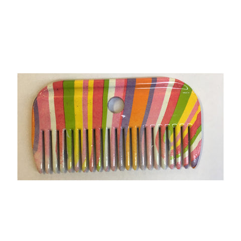 Roma Rainbow Stripes Mane Comb