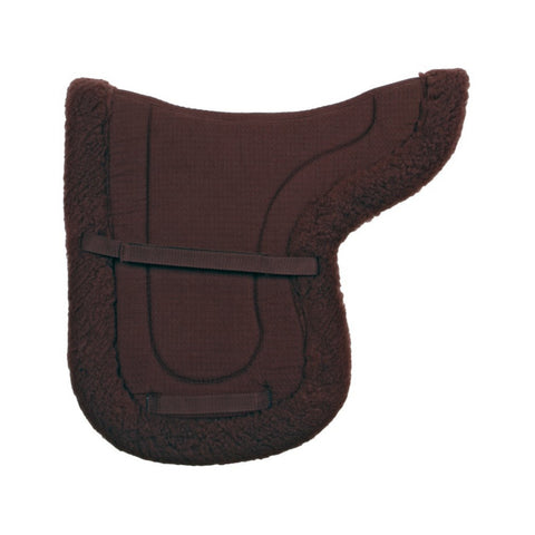 Roma Rolled Edge Fleece Saddle Pad