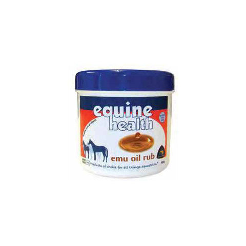 Equine Health Emu Oil Rub