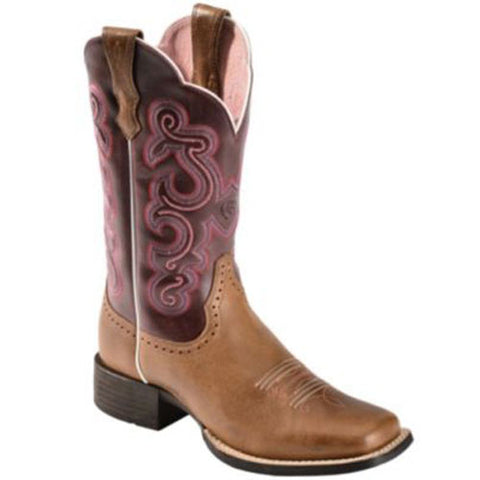 Ariat Quickdraw Ladies Western Roper Boots