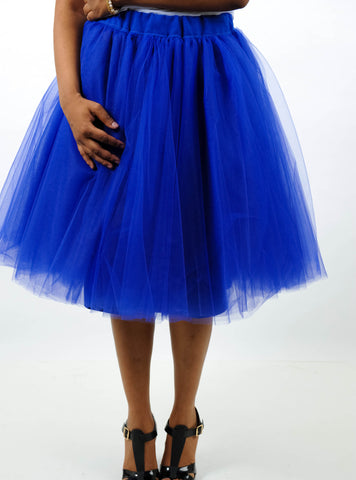 QT Couture Lined Tulle Skirt, Skirt, QT Couture