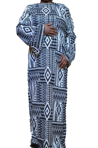 African Trumpet Dress, Dress, QT Couture