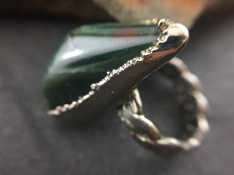 Massive Crystal/Natural Ring Update - Leaf Seed Pod Shell