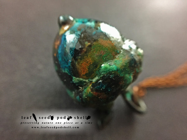 Acorn Pendant - Copper Patina - Cat No 881