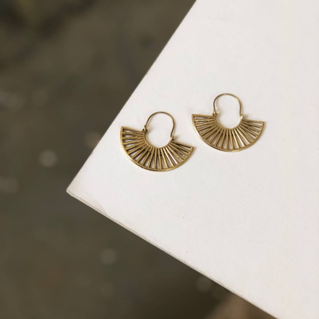 Sonal Crescent Earrings