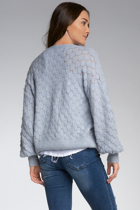 Dusty Blue Cardigan