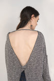 Knotted Open Back Top