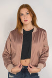 Rose Gold Bomber