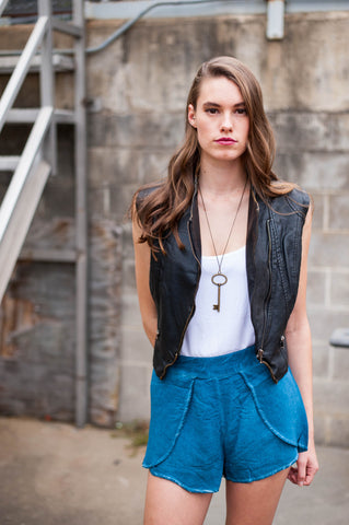 Cutoff Fray Jeans