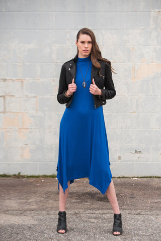 Mod Leather Dress