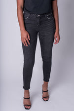 Shaya Studded Denim