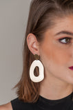 Mod Oval Earrings
