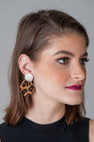 Drew Leopard Earrings