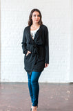 Shawl Collar Longline Duster