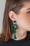 Emlyn Beaded Earrings