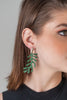 Palm Resin Earrings