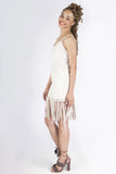 Suede Fringe Dress