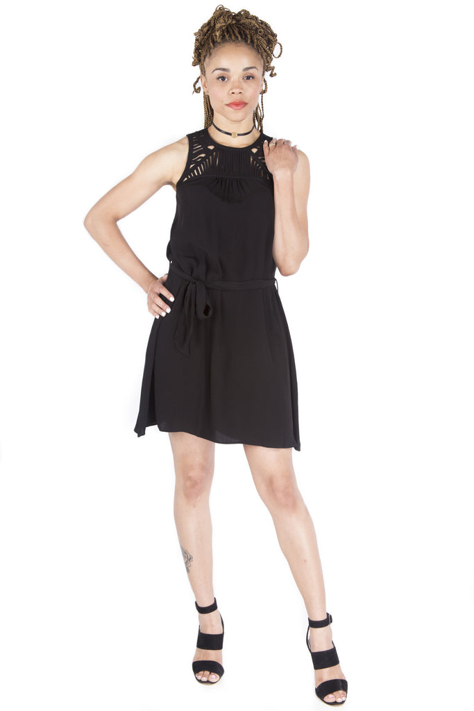 Sleeveless Cage Dress