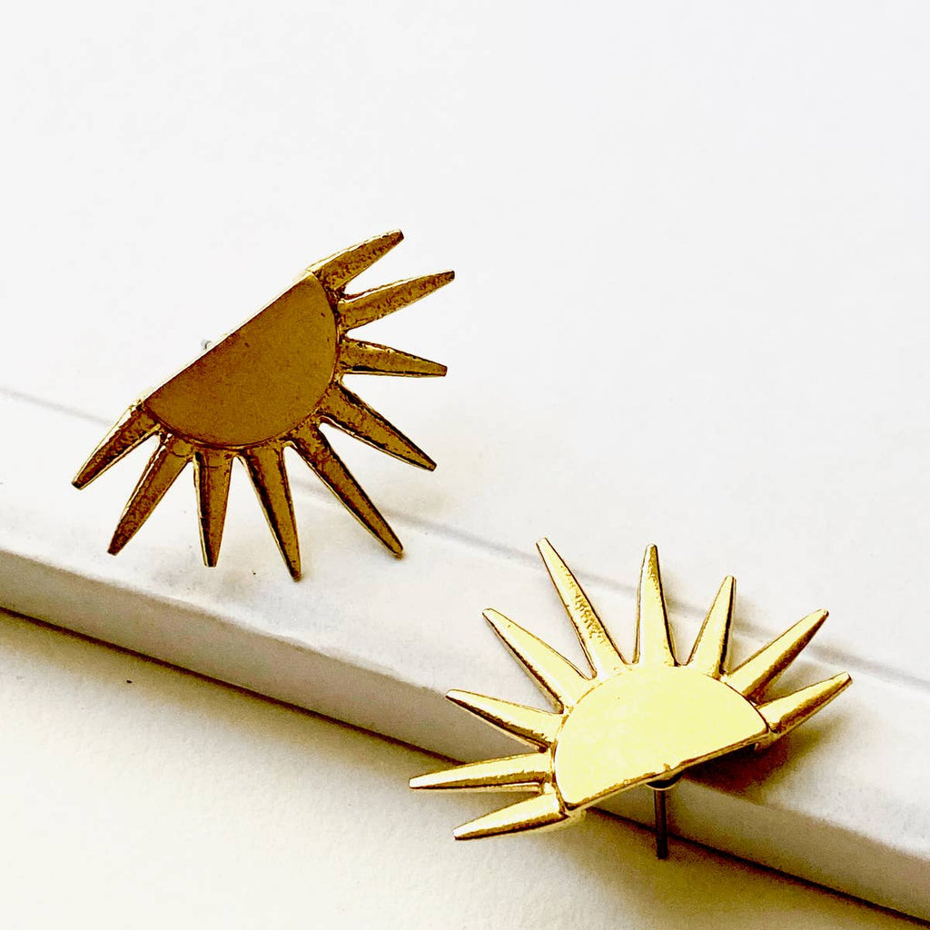 Mini Sun Ray Earrings