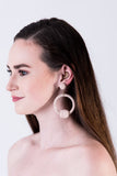 Thread Drop Earring