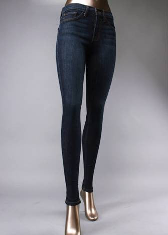 High Waisted Denim Skinny