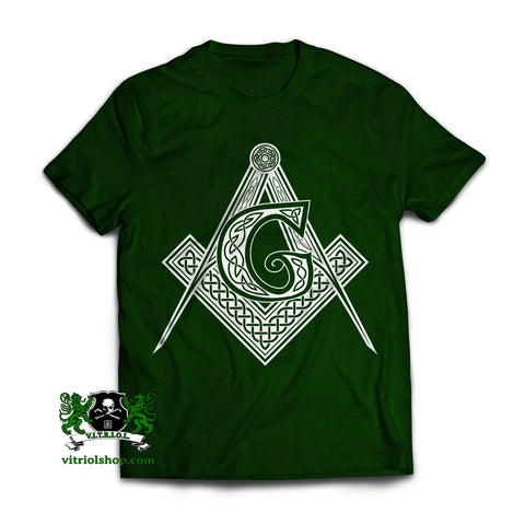 Celtic Square and Compasses T-Shirt