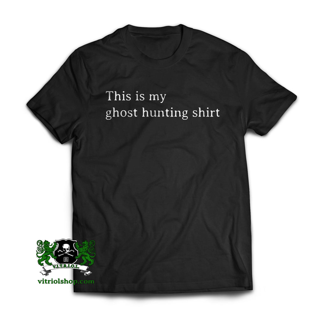 Ghost Hunting T-Shirt - Charcoal Gray
