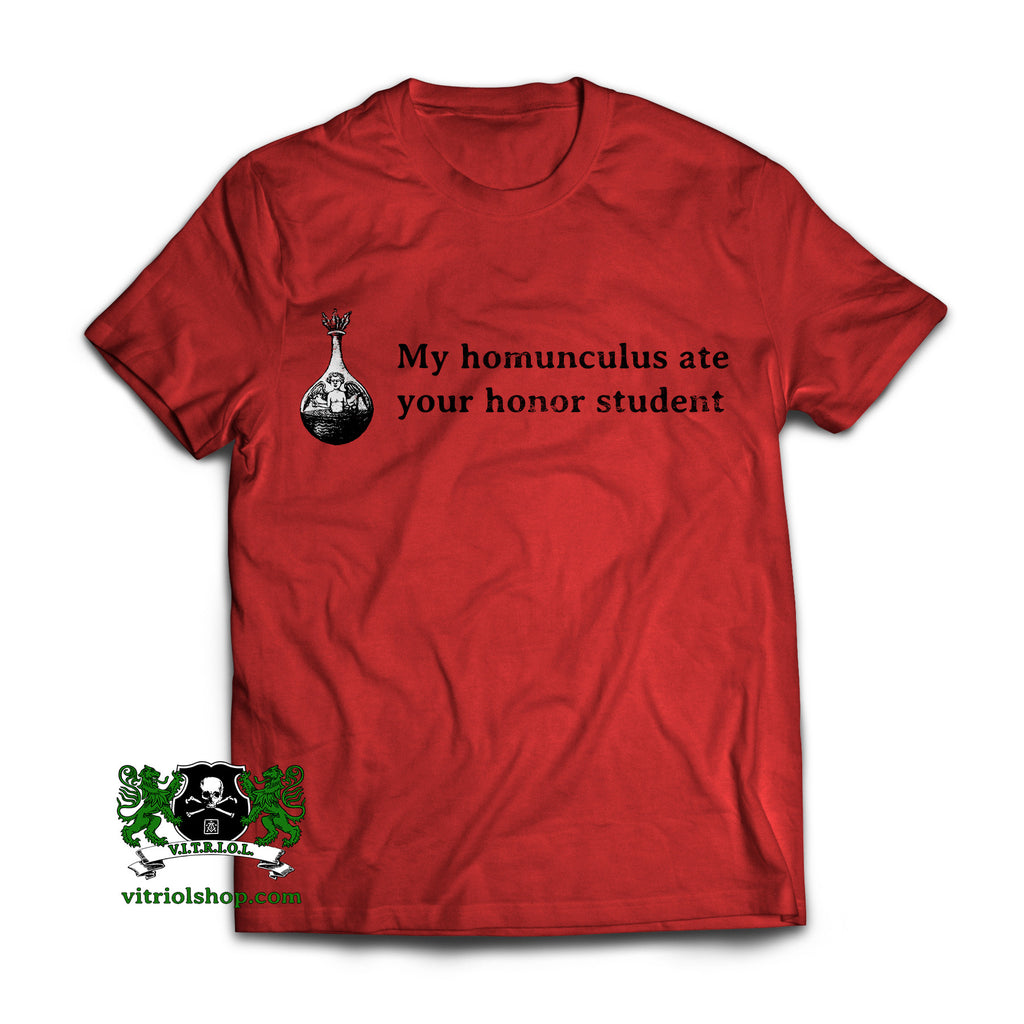 Homunculus T-Shirt - True Red