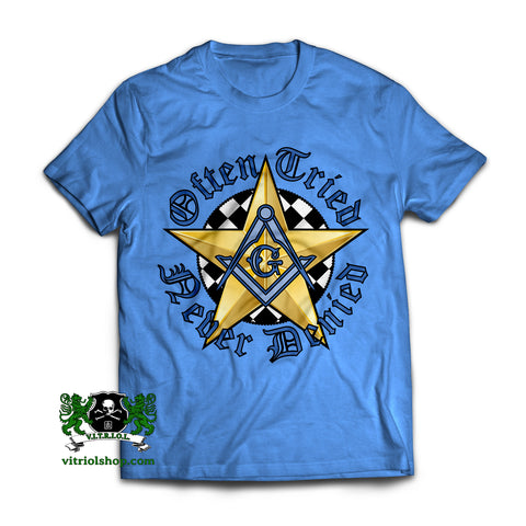 Often Tried T-Shirt - Columbia Blue