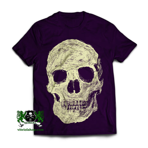 Skull T-Shirt - Purple