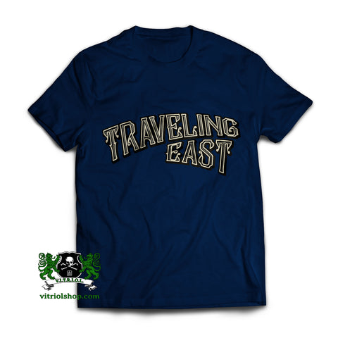 Traveling East T-Shirt - J. Navy