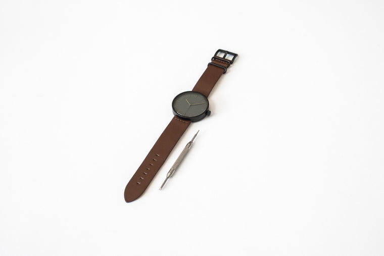 ITEM #001: Walnut Wrist Watch