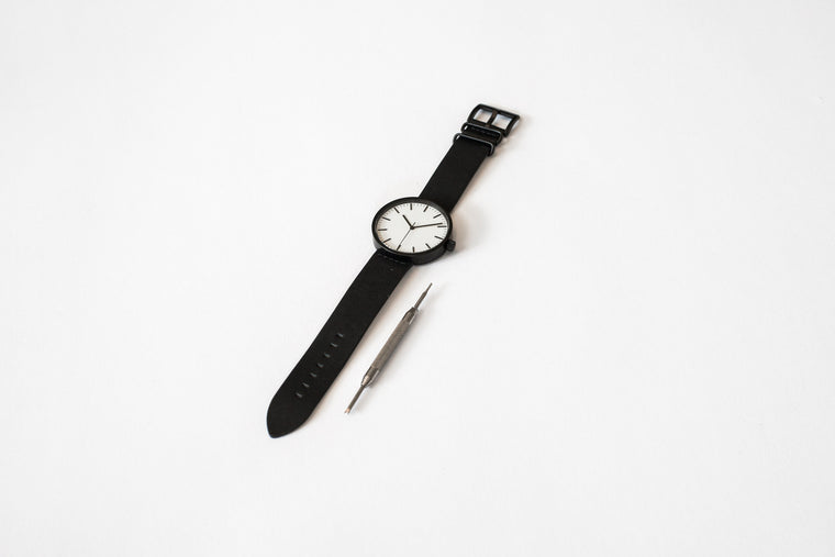 ITEM #001: Charcoal Wrist Watch