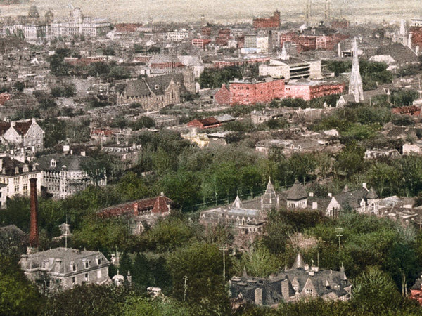 1902 Vintage Photo of Montreal