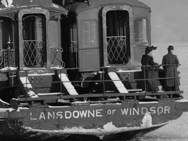 Lansdowne of Windsor Crossing the Detroit River