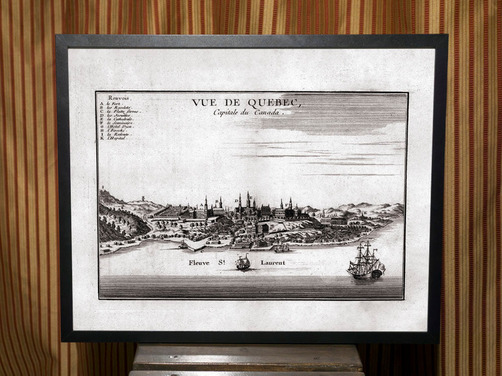 1755 View of Quebec