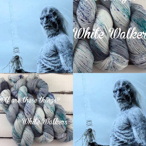 Wtf are these thing?! White Walkers
