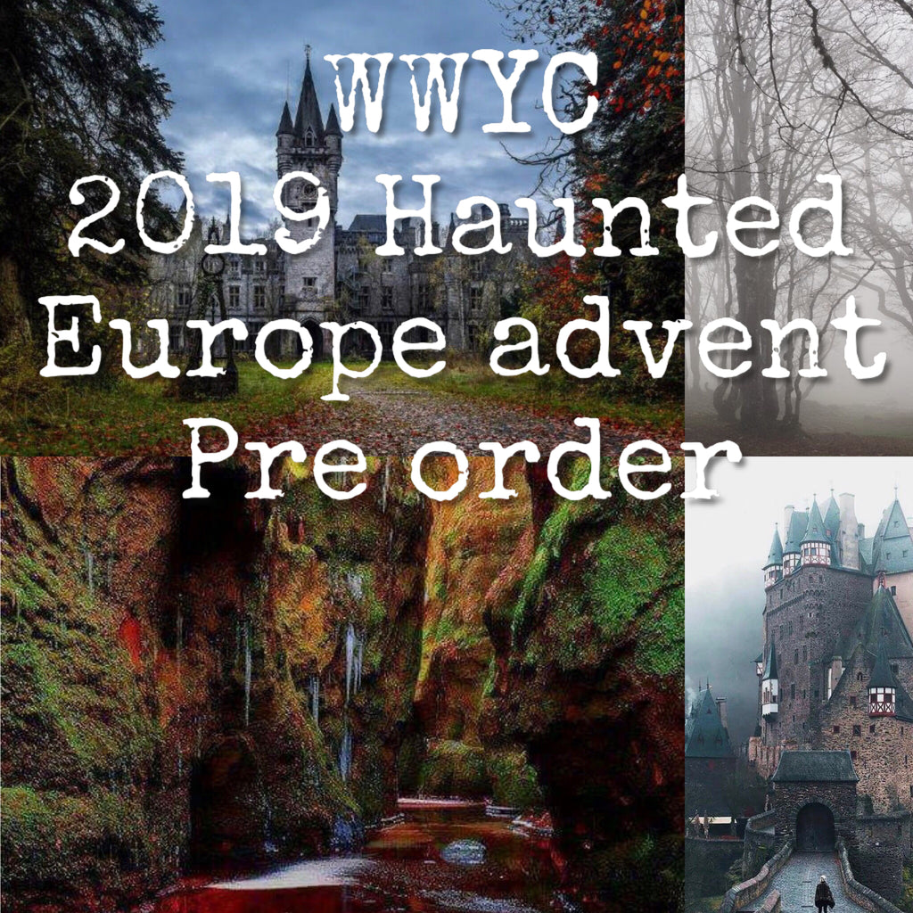 Haunted Europe Halloween Advent (preorder)