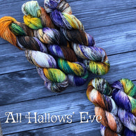 All Hallows' Eve Yarn & Skein Coat
