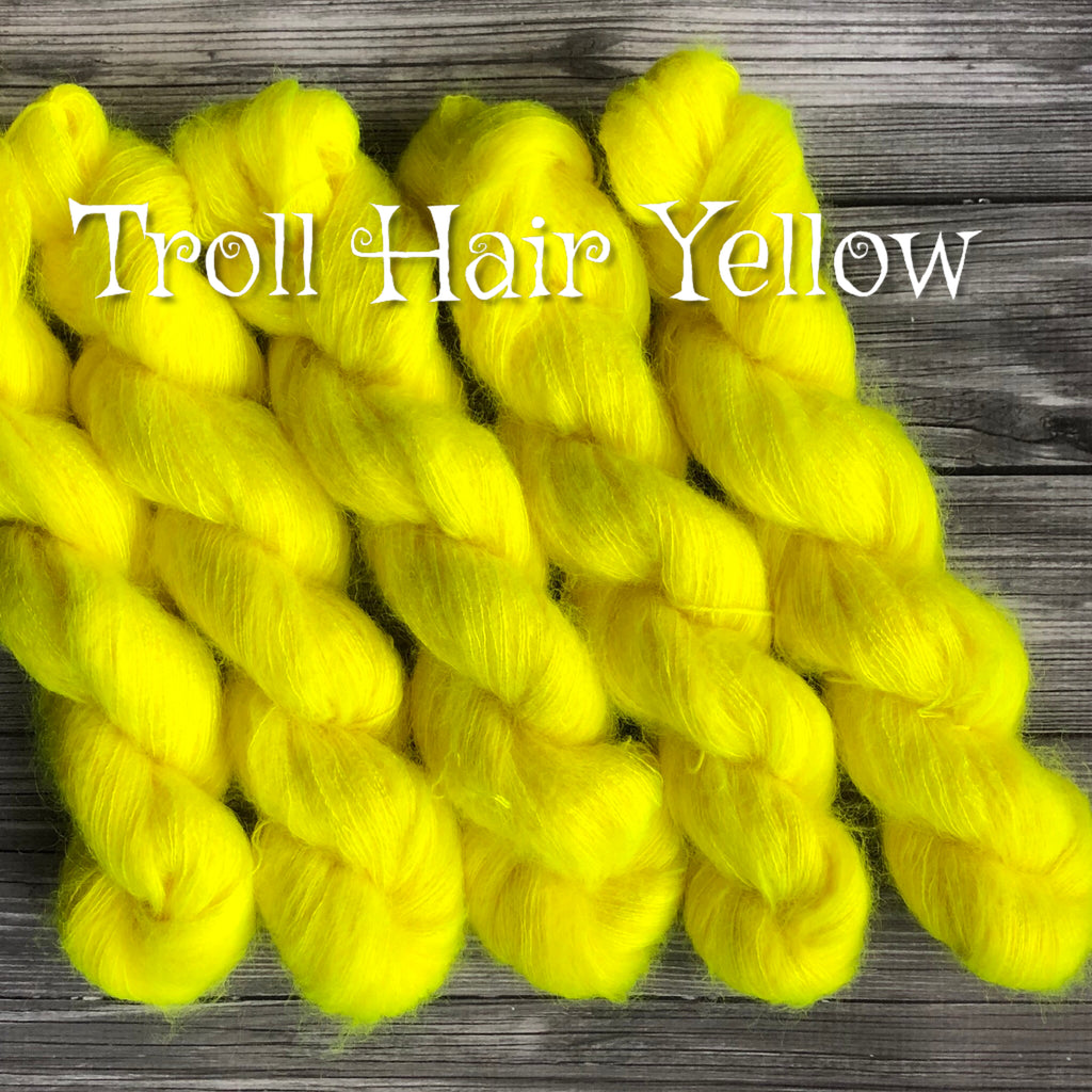 Troll Hair Yellow