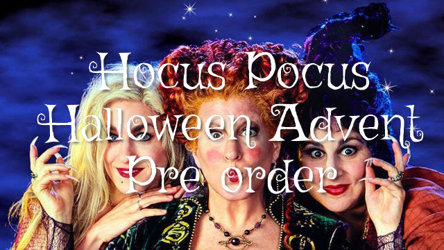 Hocus Pocus Halloween Advent PREORDER