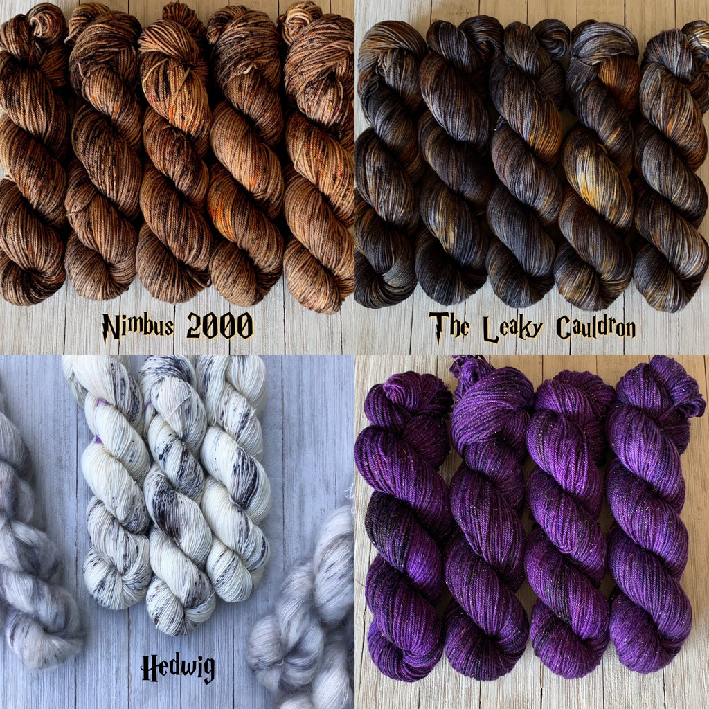 Kits for my favorite Patterns from the Harry Potter Knitting Magic Book by Tanis Gray