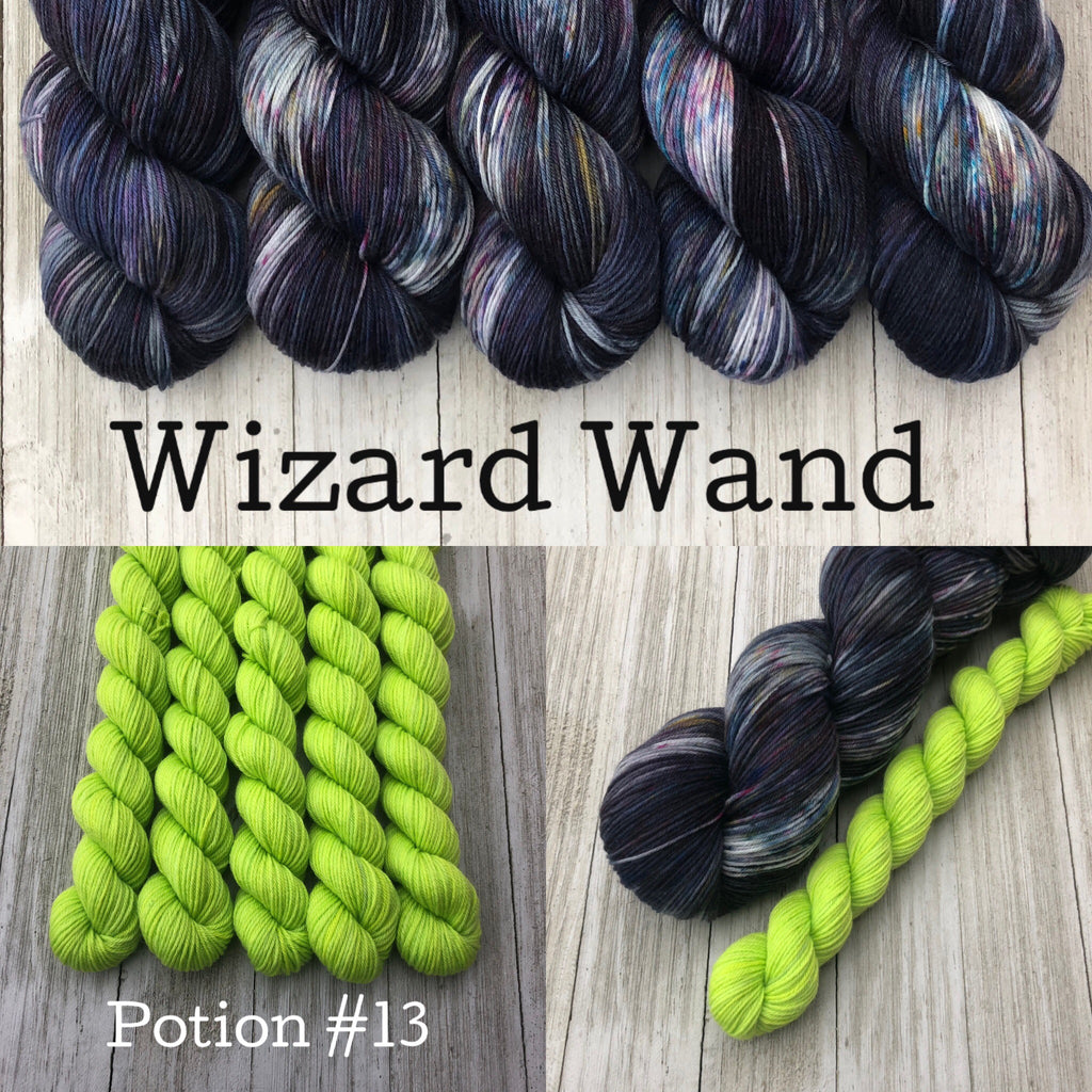 Wizard Wand & Potion #13
