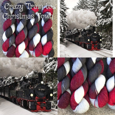 Crazy Train to Christmas Town