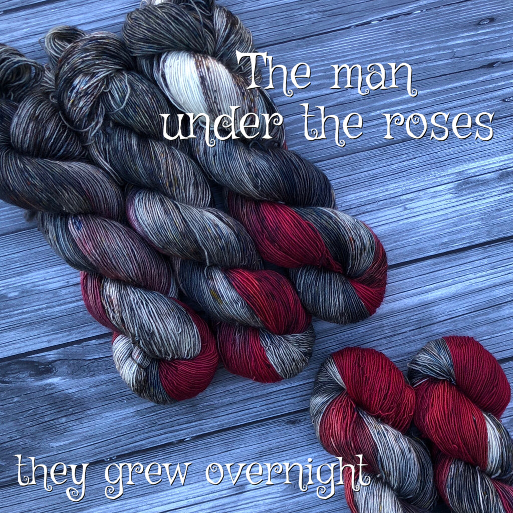 The man under the roses
