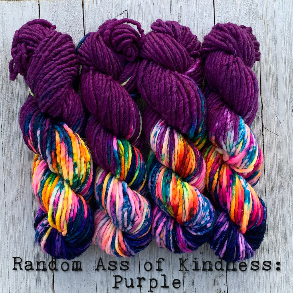 Random Ass of Kindness: Purple (Bulky)