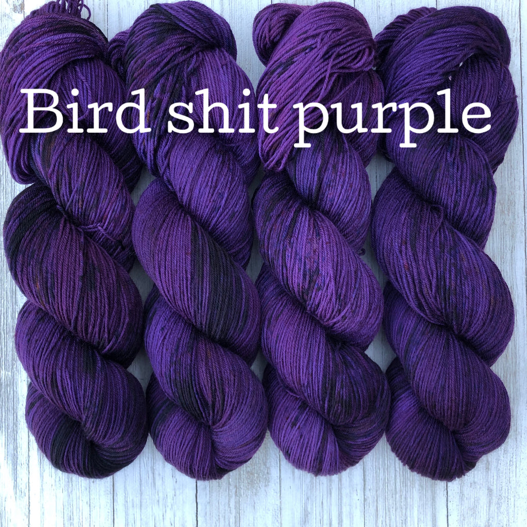Bird Shit Purple