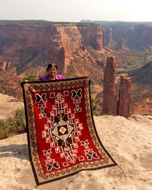 Navajo Churro Wool Rugs and Blankets - The Getzwiller Churro Collection