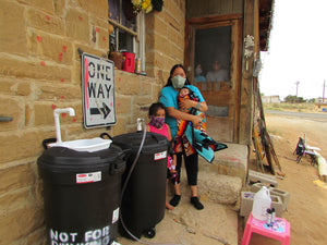 Update - Hand Wash Stations on the Navajo and Hopi Nation