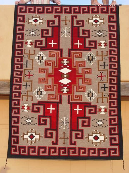 Steve's Navajo JB Moore Weaving of the Week May 7, 2018